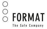 Logo Format Partner für Schließtechnik in Köln
